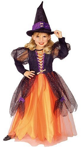 Pretty Witch Costume for Girls
