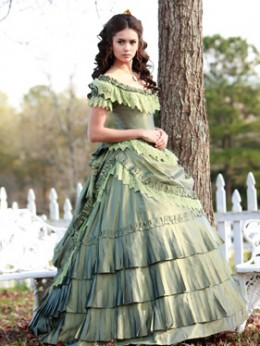 "Nina Dobrev as Katherine Pierce in episode 1x12 ""Children of the Damned"""