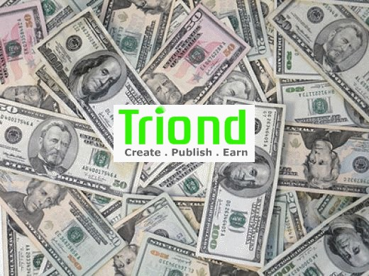 Triond is a good place to writers to start earning money online as it is easy to use and navigate.