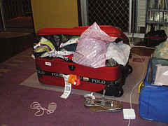 Stuffed Suitcase by Laura Campbell on Flickr