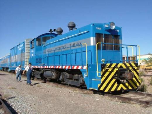 Nevada Southern Railway train!