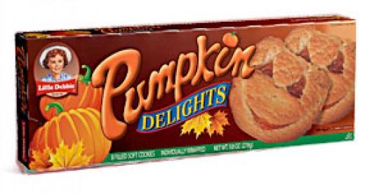 Pumpkin Delights - Little Debbie