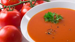 How to Make Homemade Tomato Soup with Tomatoes and Fresh Veggies