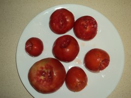 Prepped Tomatoes