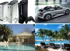 Luxuries---Not necessities.