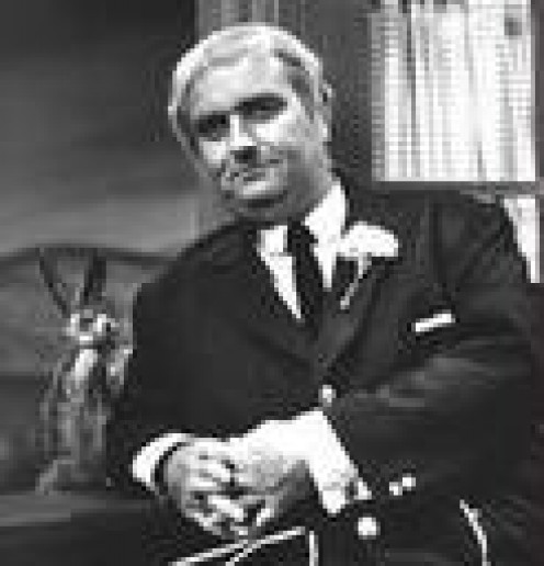 BOB KEESHAN, AS CAPTAIN KANGAROO, A MAN OF PEACE WITH A PEACEFUL SHOW THAT TOUCHED THE LIVES OF THOUSANDS OF CHILDREN.