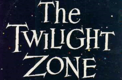 """""""YOU'RE TRAVELLING THROUGH TIME. A DIMENSION OF SIGHT, SOUND AND OF MIND. THE KEY OF IMAGINATION UNLOCKS THIS DOOR. YOUR NEXT STOP, THE TWILIGHT ZONE."""""""