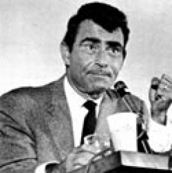 ROD SERLING, ULTRA-CREATIVE WRITER, PRODUCER OF THE TWILIGHT ZONE AND THE NIGHT GALLERY.