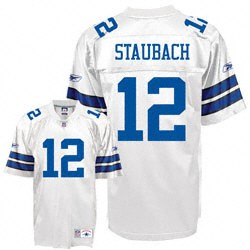 Throwback Dallas Cowboys Roger Staubach Jersey