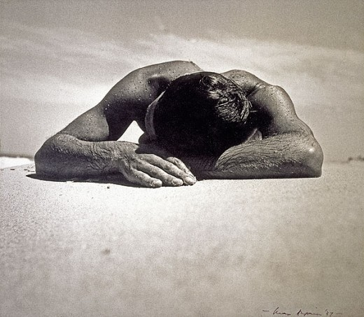 Sunbaker by Max Dupain - A photograph that most Australians will recognize