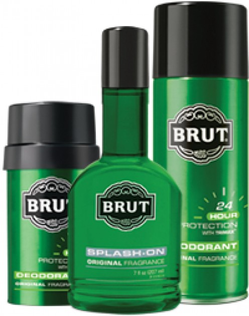 THE OLDER I BECAME, I RELIED ON A MORE-CHARMING COLOGNE: BRUT COLOGNE FOR ME, WELL, AN 17-YEAR-OLD, BUT IT WORKED GREAT.