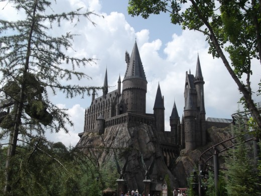 Hogwarts Castle from Harry Potter Series.  Taken at Universal Studios Islands of Adventure August 2011