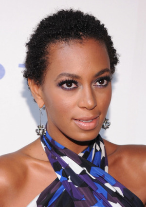 Solange Knowles all natural!