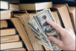 Get money for books by selling books online.