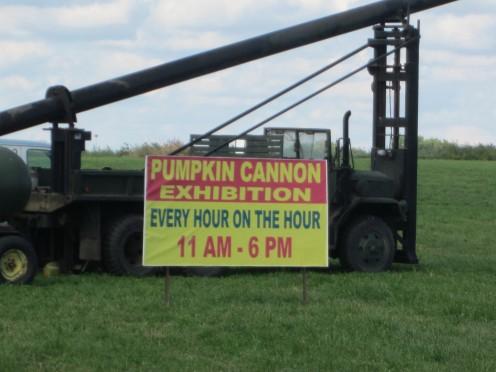 The Pumpkin Cannon