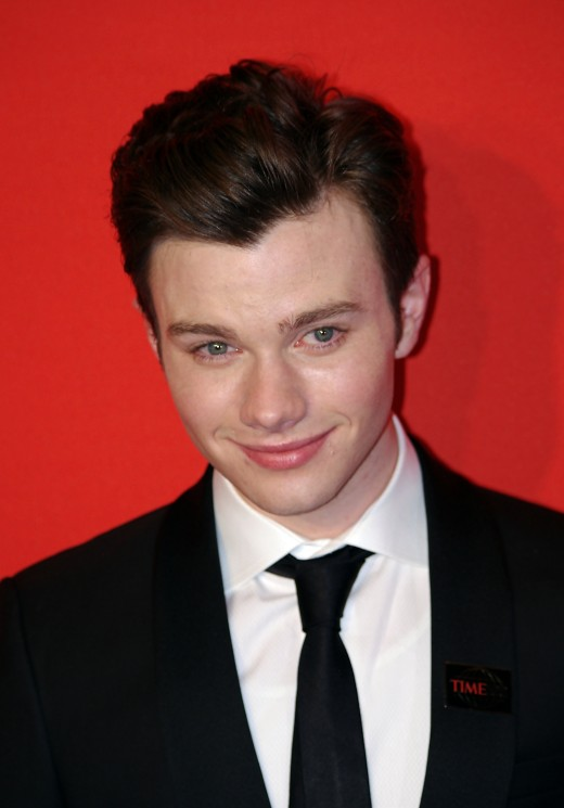 Chris Colfer looking fabulous at the 2011 Time 100 gala.