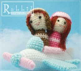 Summer Crochet Patterns can be worked on in a Plane