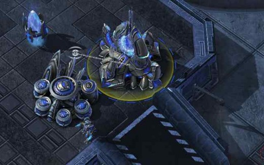 Protoss Ramp (with wall-off)