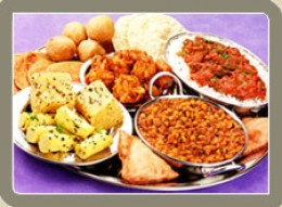 "Rajasthani Cuisine ""Dalbhati"""