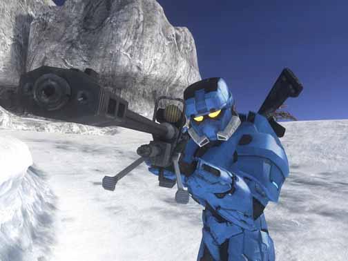 Halo screen shot