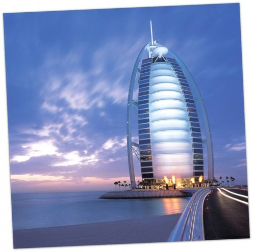 Burj Al Arab, highly acclaimed 7-star hotel in the world