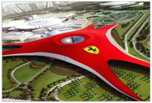 Yas Island, Ferrari Game City in Abu Dhabi