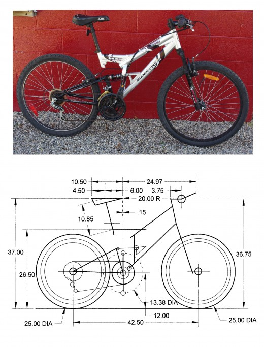 Supercycle Trill DS Mountain Bike Set-up