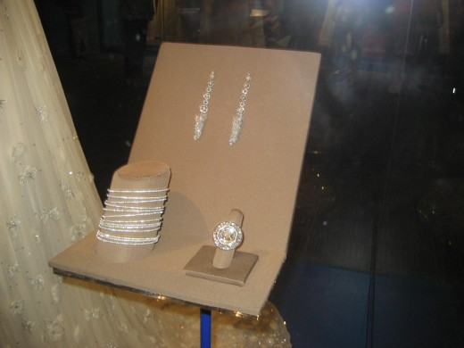The inaugural jewelry