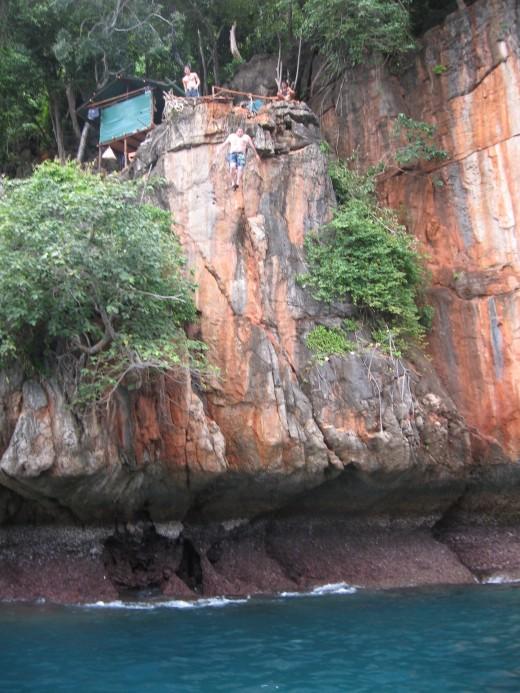 KPPL 20 meter Cliff Jump
