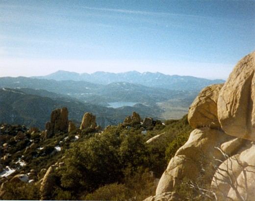 Picture I took of the Pinnacles back in 1988.