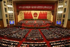 National People's Congress, in the Great Hall of the People, Beijing, China