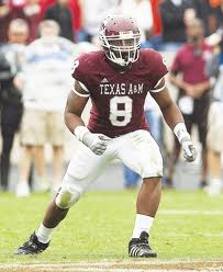 LB Garrick Williams (Texas A&M)