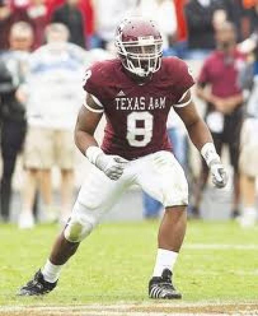 LB Garrick Williams (Texas A&M)