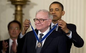 Obama is a slave to men like Soros & Buffet. This is all he thinks about is what he can spend on next. Shameful.