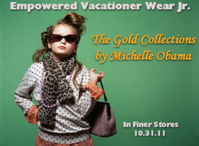 Empowered Vacationer Wear, Jr. by Michelle Obama