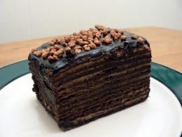 Tortak  (Cakes)  (Dobos Torte shown here)