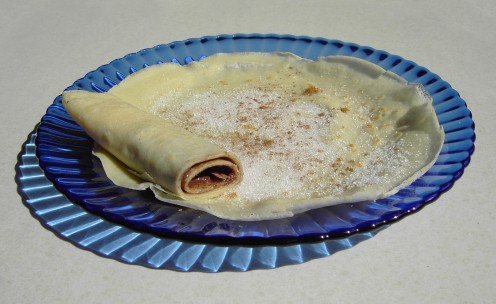 Rolled Crepe