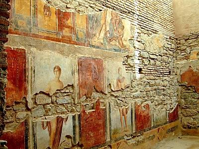 Ephesus wall painting
