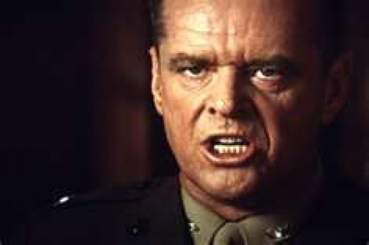 A Few Good Men (1992); Jack Nicholson as Col. Jessup