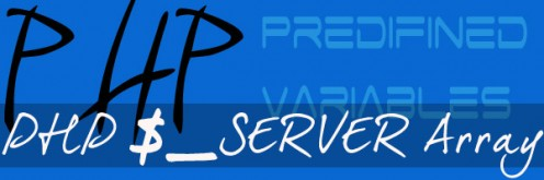 PHP  $_SERVER Array