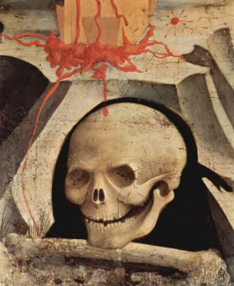Adam's skull on Calvary / Fra Angelico