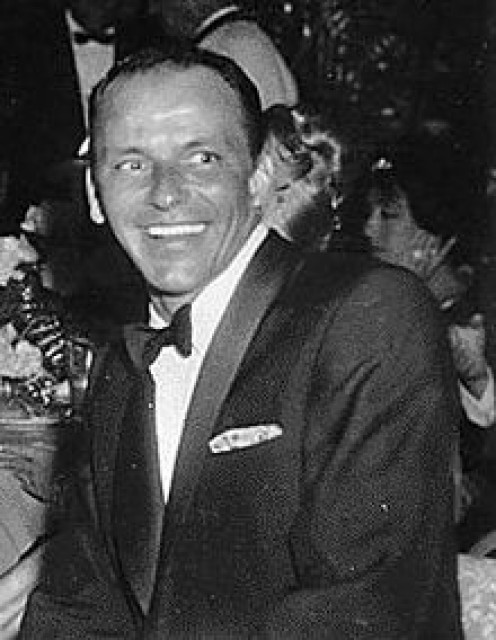 """Ol' Blue Eyes,"" ""The Chairman of The Board,"" Frank Sinatra. That name says it all when you talk about singers. ""My Way,"" sounds so good when I sing it in the shower."