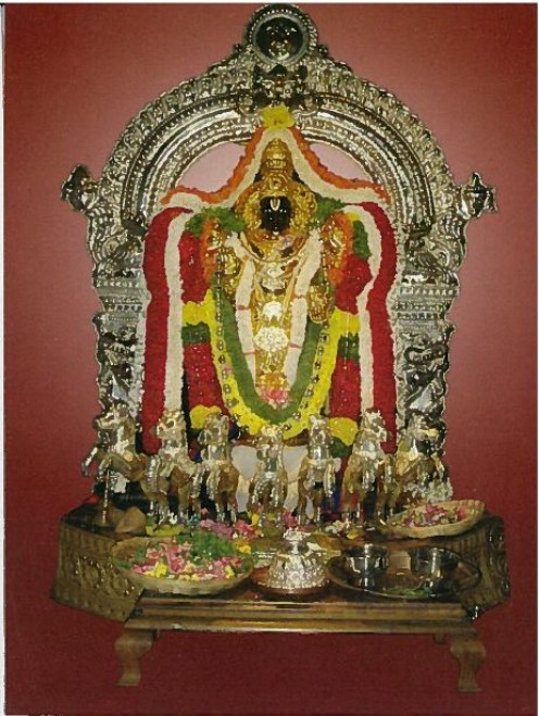 Photo of Sri Surya Narayana Swamy, the presiding deity of the Temple