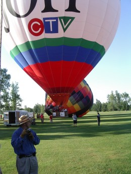 Believe it or not, this balloon is in-flight