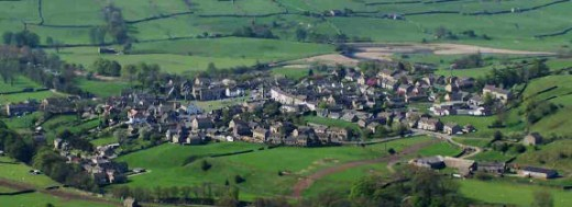 Reeth seen from Fremington Edge