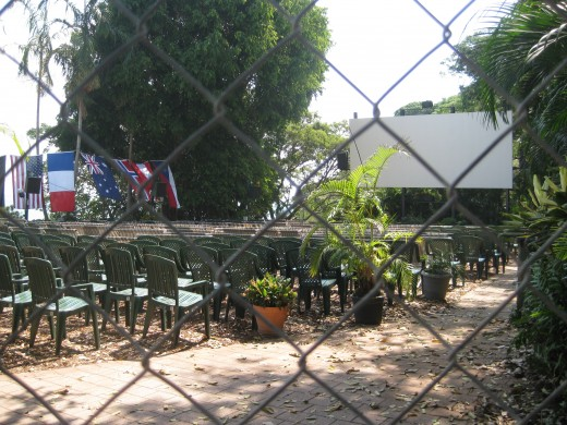 visit the open air theatre