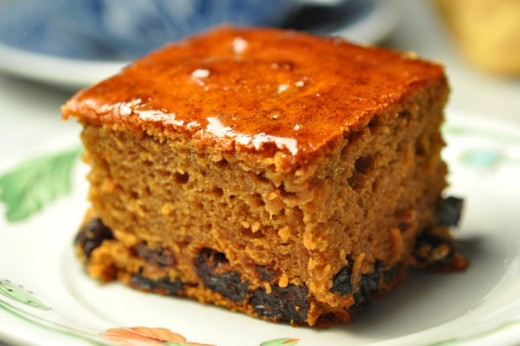 Lekach (Jewish Honey Cake). Image:  Siu Ling Hui