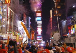 New Year's Eve in Time s Square