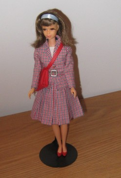 Francie Doll in Checkmates