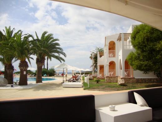 The One Ibiza hotel. Wonderful!